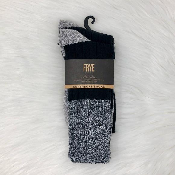 Frye Super Soft Boot Socks   2 Pairs